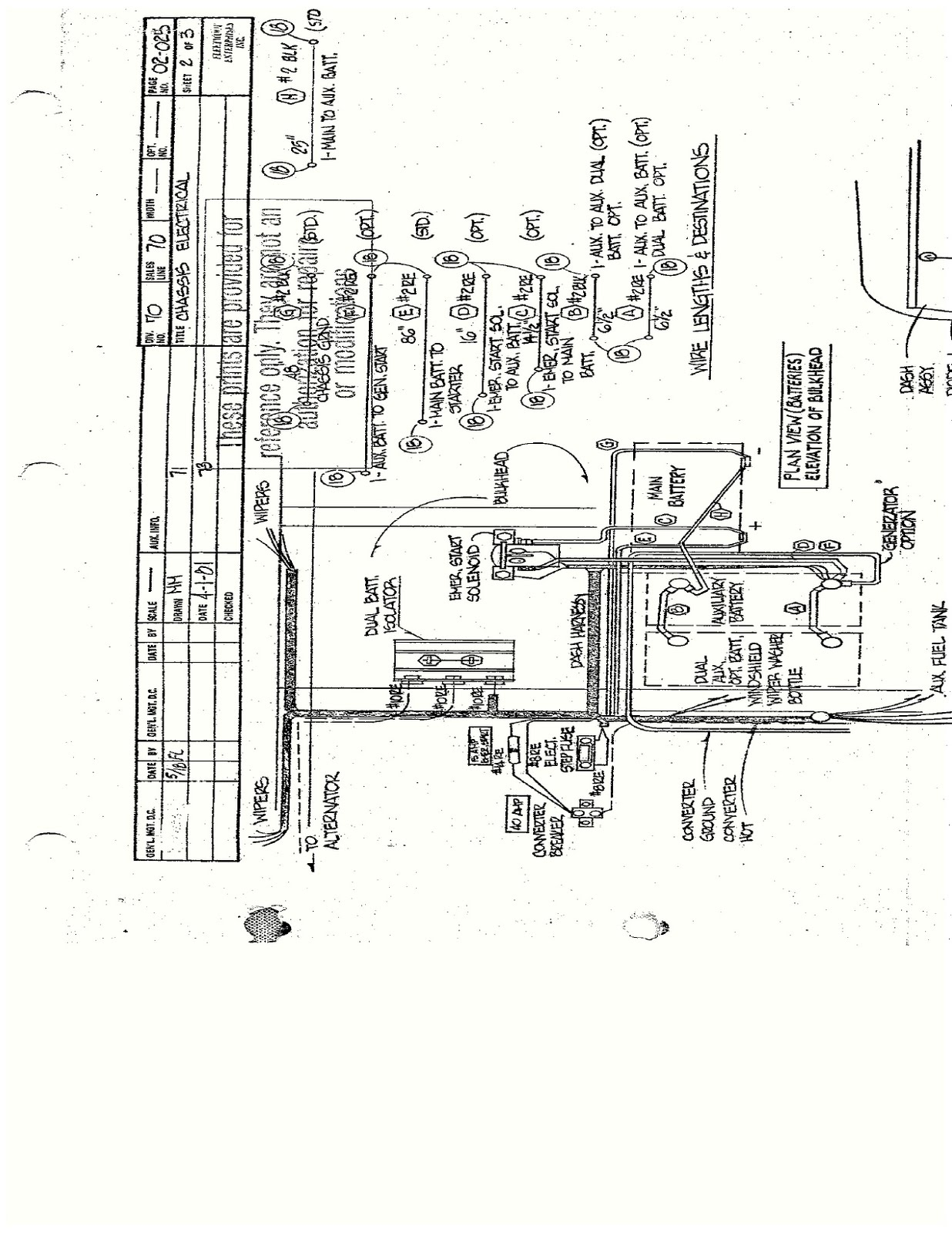 30 Chev P 30 Wiring Diagram S